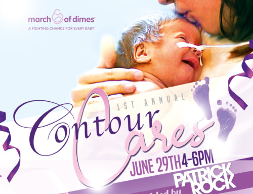 Contour Cares Flyer Design